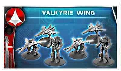 Robotech RPG Tactics: United Earth Defense Force Valkyrie Wing (6 Models) *NEW*