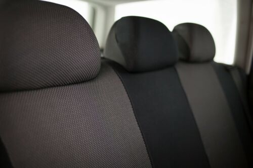 Sitzbezüge Sitzbezug Schonbezüge für Mercedes B-Klasse Dunkelgrau Sportline Set