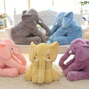 baby pl sch toys gro kinder elefant puppe kissen kuscheltier doll xmas gift ebay. Black Bedroom Furniture Sets. Home Design Ideas