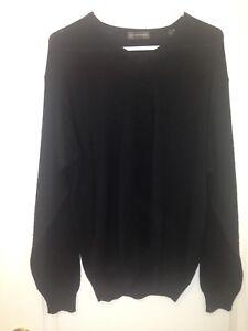Hart-Schaffner-Marx-Long-Sleeve-Sweater-Medium-Wool-Viscose-Made-in-Italy