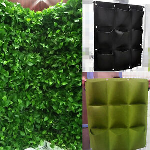 9Pocket-vertical-Greening-mur-suspendu-sacs-de-plantation-de-jardin
