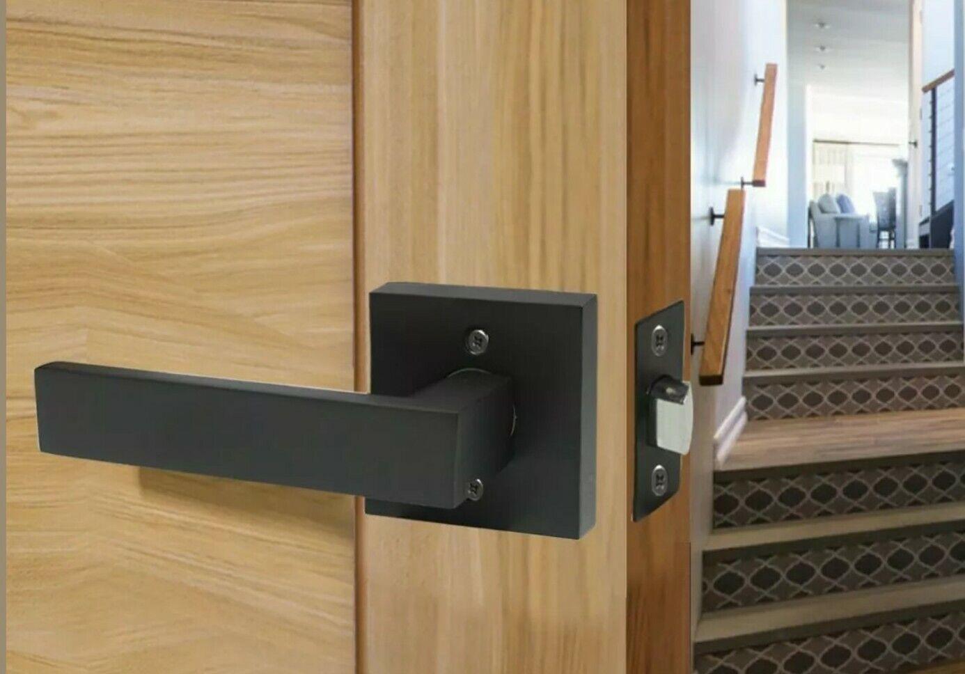 Passage Door Lever Handle Interior Non Locking Lever Set For Hallway Only 1 Set For Sale Online