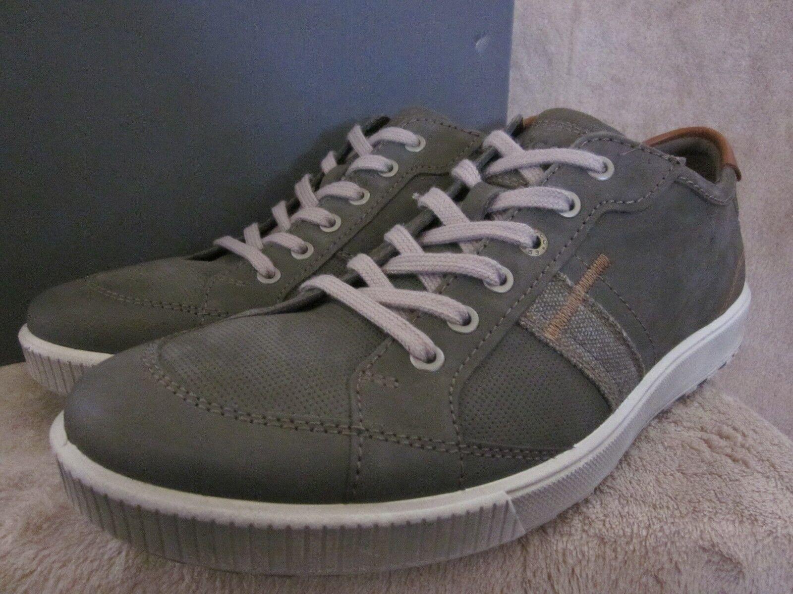 ECCO Ennio 53407458267 Mens Casual Tie Grey Shoes US 11 - 11.5 M NWB