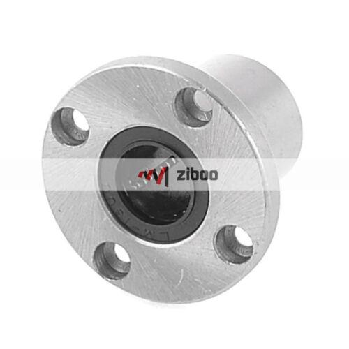 LMF16UU 16mm Inner Dia 5mm Mount Diameter Linear Round Flange Bearing