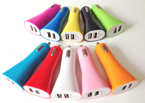 2A HORN TRUMPET CAR charger dual usb FOR apple iphone 6 7 plus 4 4s 5 5s ipod