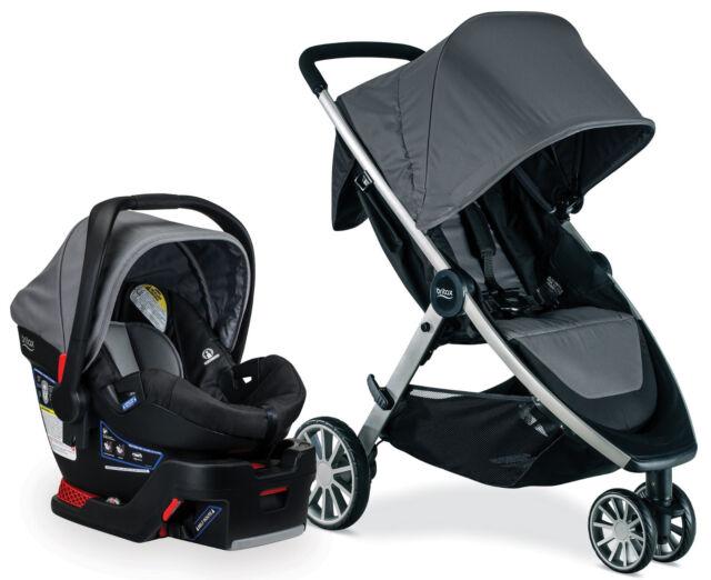 Britax B Lively Stroller Safe 35 Infant Car Seat Travel System Dove