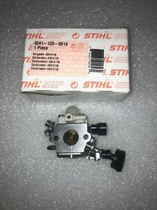 Stihl Br200 Blower Carburetor New Oem 4241 120 0625 Old 4241 120 0619 Ebay