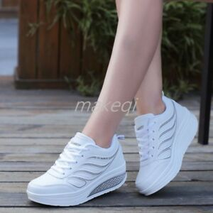 New-Fashion-Womens-Platform-High-Wedge-Heel-Shoes-Creeper-Sneakers-Athletic