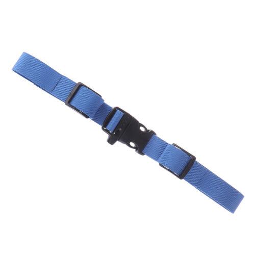 Kids Buckle clip strap adjustable chest harness bag backpack shoulder strapDS