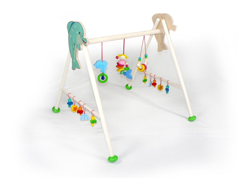 Babyspielgerät Nixe 600 x 600 x 600 NEU Spieltrapez Spielcenter Spielbogen