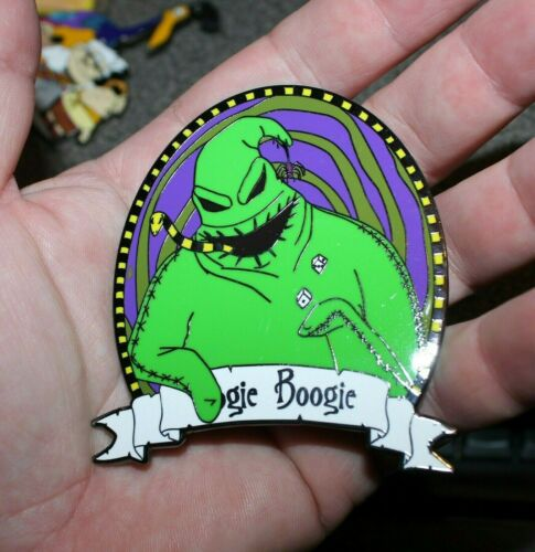 PIN OOGIE BOOGIE NIGHTMARE BEFORE CHRISTMAS FANTASY LIMITED EDITION 100 DISNEY