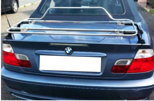 BMW serie 3 Cabrio E46 2000-2007 Rack De Arranque De Equipaje-Acero Inoxidable