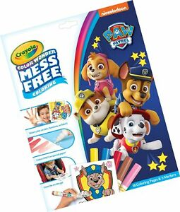 Details about Crayola Color Wonder Paw Patrol Coloring Book Pages &  Markers, Mess Free Colo...