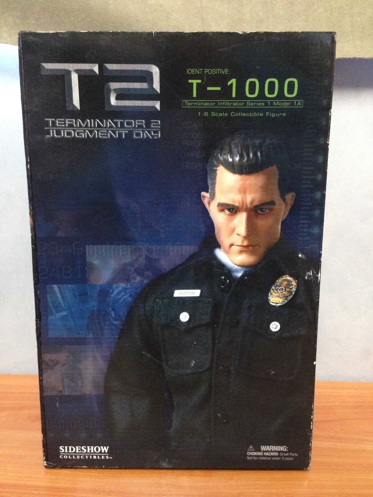Sideshow - Terminator 2 - 1:6 Scale Action Figure - T-1000 - BNIB