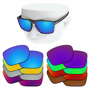 6058017de3 Image is loading OOWLIT-Replacement-Lenses-for-Oakley-OO9341-Sliver-XL-