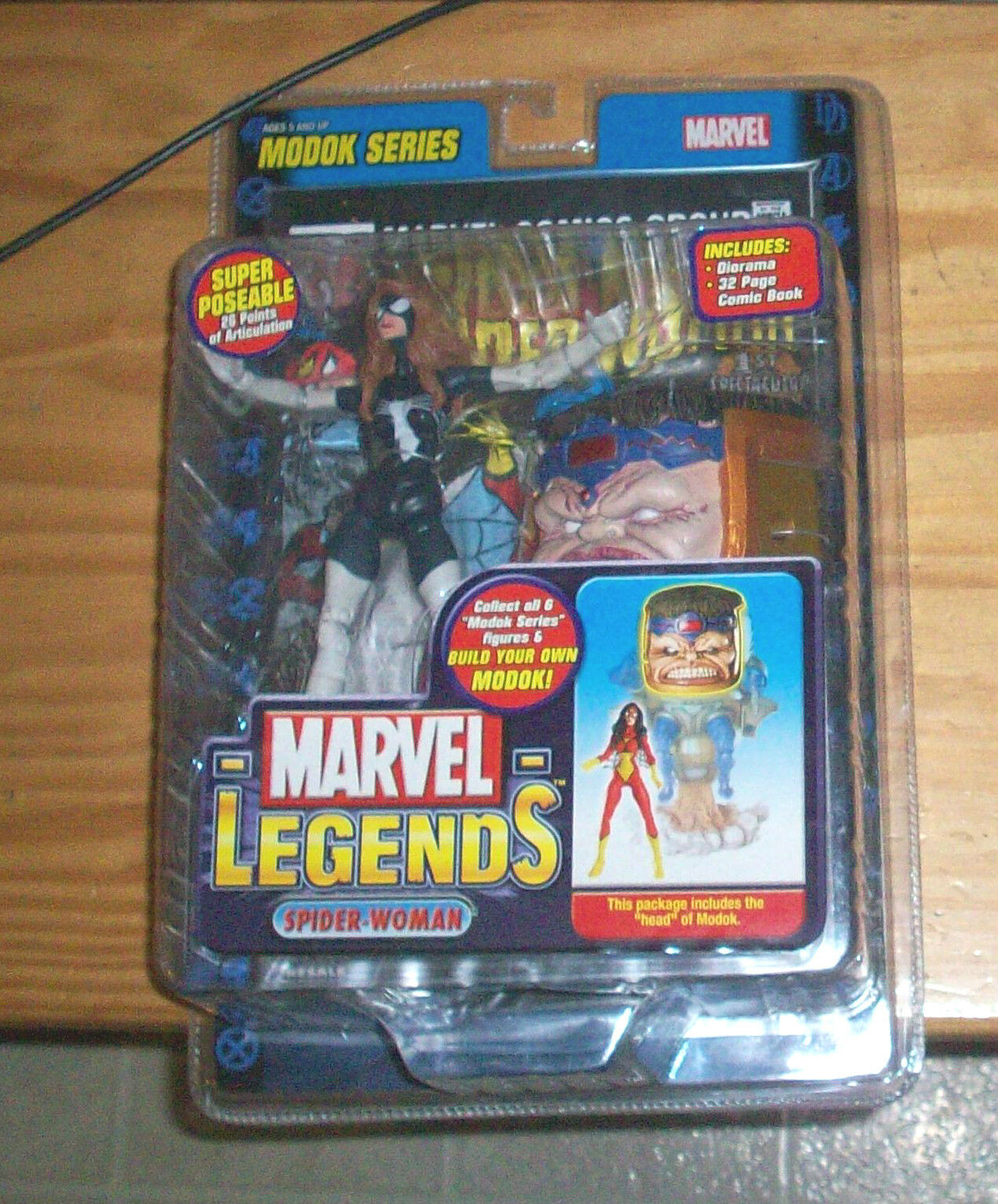 MARVEL LEGENDS 15 MODOK SERIES SPIDER donna VARAINT CHASE azione cifra UNIVERSE