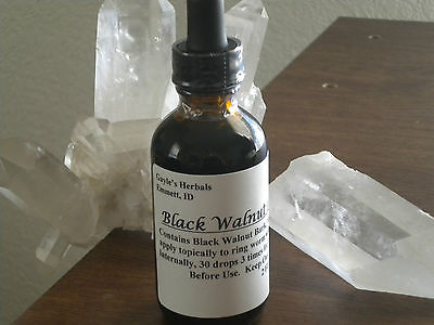 Black Walnut Bark Tincture Extract 4 FLOZ  SEALED  FREE SHIPPING