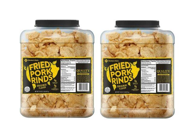Member's Mark Original Fried Pork Rinds (16 oz.) 2Packs