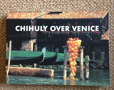 Chihuly Over Venice Postcard Book Portland Press EUC