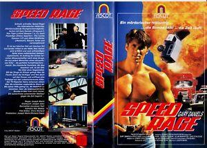 """VHS - FSK 18 - """" Speed RAGE """" (1995) - Gary Daniels - Kenneth Tigar"""