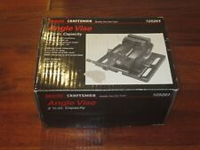 Craftsman Angle Vise 2 12 In With Weighted Base Tilting Machining Brand New