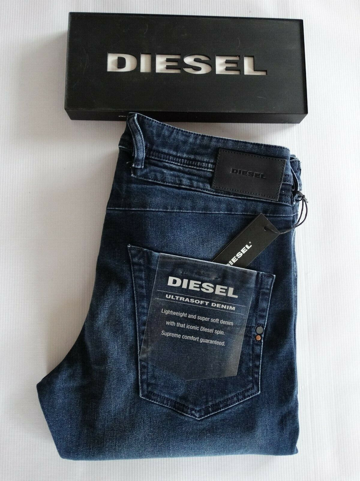 DIESEL Jeans BELTHER-Slim Fit - 087AS (STRETCH) - Nuovo con Etichetta