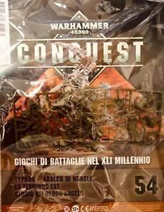 Warhammer-40000-Collezione-Conquest-n-54-Miniatura-Typhus-Aralco-di-Nergle