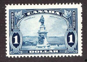 Sc 227 - Canada - 1935 - $1 Champlain Monument  - MH - F -  superfleas - cv$45