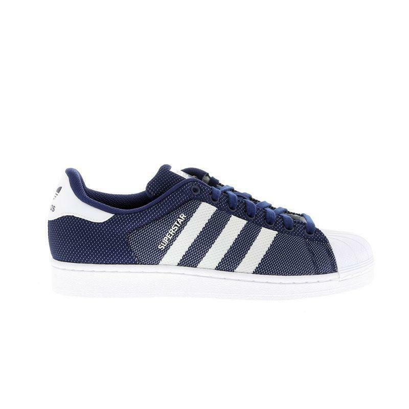 Herren Adidas Superstar Blau Turnschuh Bb5794
