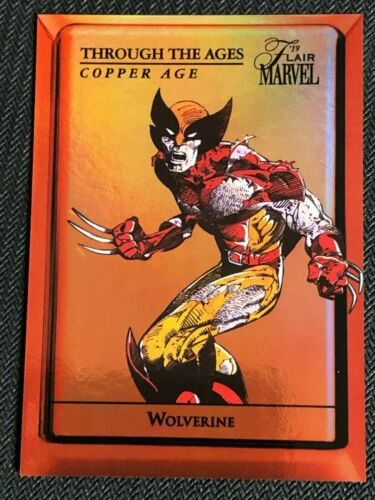Wolverine 2019 Marvel Flair Through the Ages Copper TTAC-11 Near Mint