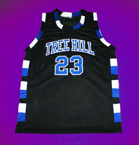 ONE TREE HILL RAVENS JERSEY SCOTT BLACK NEW SEWN ANY SIZE CUSTOM NAME /& #