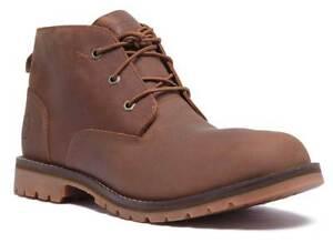 Détails sur Timberland Bradstreet Chukka Cuir Homme Marron Bottes Chaussures afficher le titre d'origine