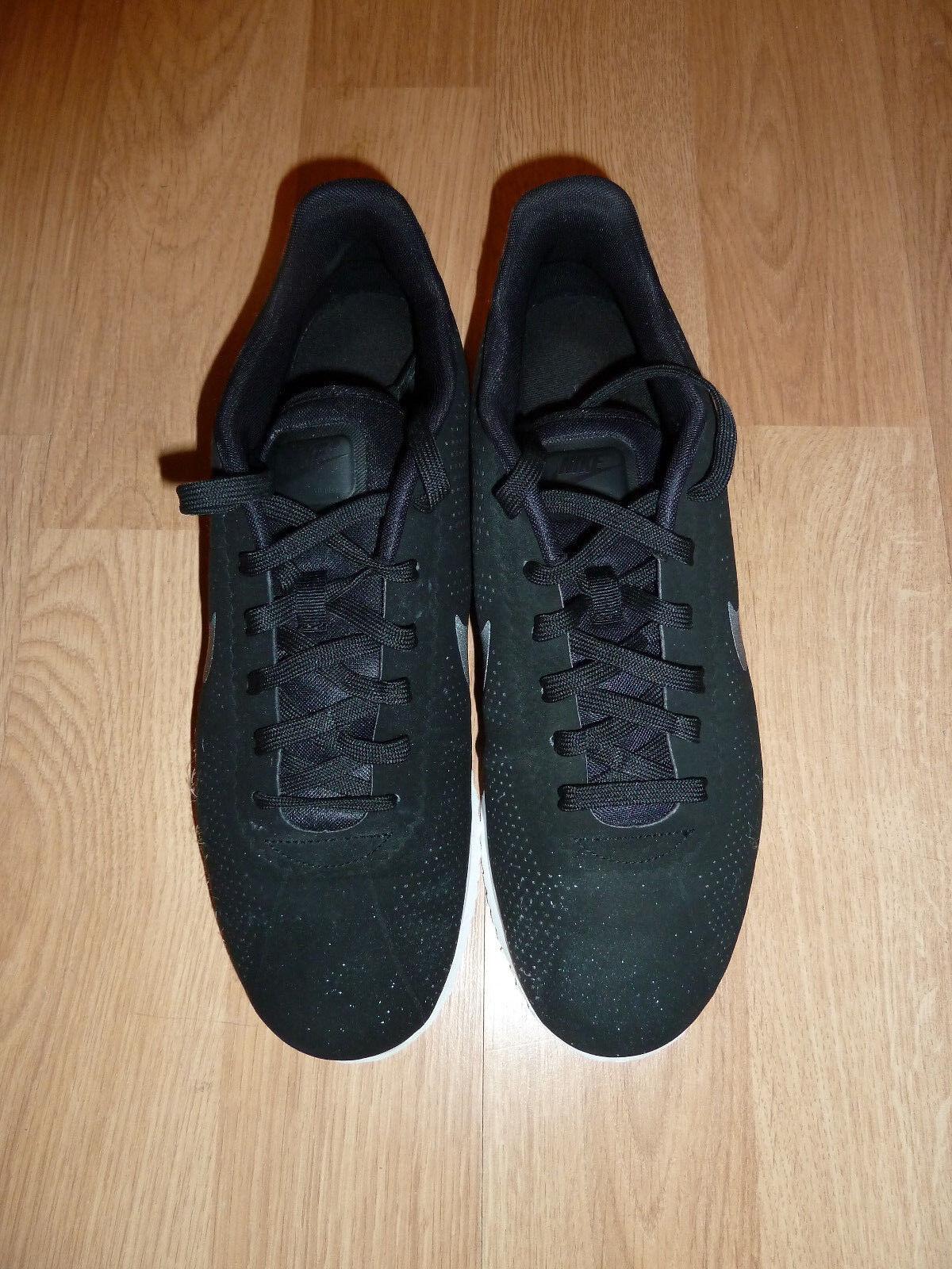 Nike Cortez Ultra Moire Black Black-White 845013-001 Sneaker US Men's Size 12
