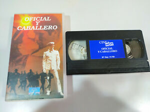 Oficial-y-Caballero-Richard-gere-Debra-Winger-VHS-Cinta-Tape-Espanol