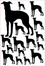 Italian greyhound vinyl stickers/ car decals/ window decals