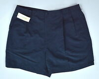 Arnold Palmer Navy Blue Pleated Front Golf Shorts Sz 40
