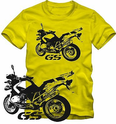 T Shirt r 1200 GS for BMW Motorcycle Fans Top Retro Style S/W Graphic DTG