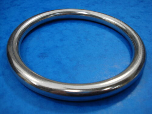 BRAND NEW 12MM X 122MM STAINLESS STEEL 316 MOORING RING