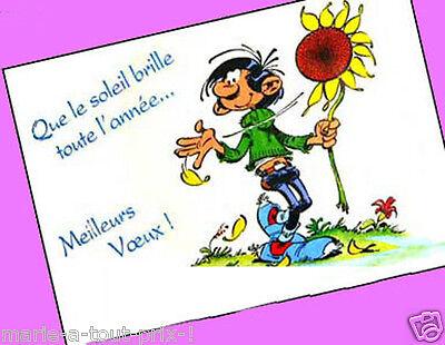 Carte postale Gaston Lagaffe Que je t/'aime