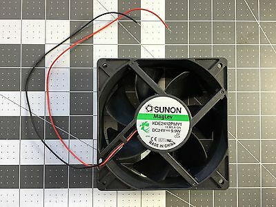 Sunon KDE2412PMV1 13.MS.A.GN 24V 0.41A 9.9W 2wires Cooling Fan