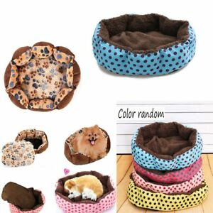 Random-Color-Manta-De-Perro-Pet-Kennel-Mat-Cama-Para-Gatos-Nido-De-Cojin