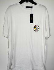 Regatta Orion Mens Coolweave Coast Inspired Print Cotton T-Shirt Multi White