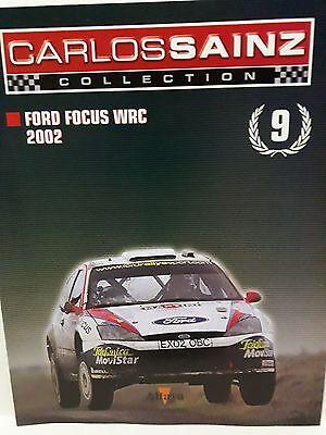 Adattabile Fasciculos Carlos Sainz Fasc9 Ford Focus Wrc 2002
