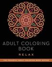 Adult Coloring Book: Relax by Adult Coloring Books (Paperback, 2015)