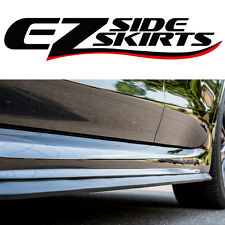 Porsche Ez Side Skirts Spoiler Lip Body Kit Aero Wing Valance Rocker Protector Fits Cayenne