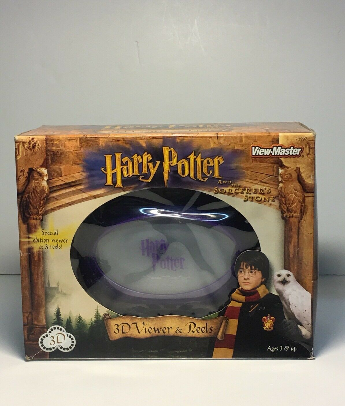 HARRY POTTER and THE SORCERER'S STONE View Master 3D Viewers and Reels 2001