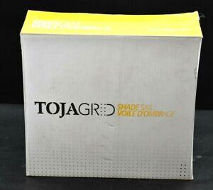 Toja Grid G131012GR1 Graphite 10'x12' Privacy Shade Sail Modular Pergola System