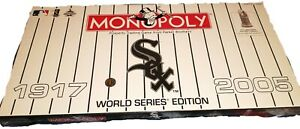 2005 HASBRO CHICAGO WHITE SOX WORLD SERIES EDITION MONOPOLY GAME NEW Sealed