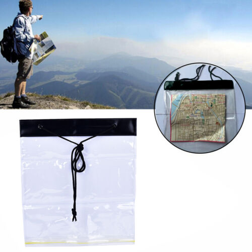 Waterproof Camping Hiking Portable Clear Map Covers Storage Case Dry B THO