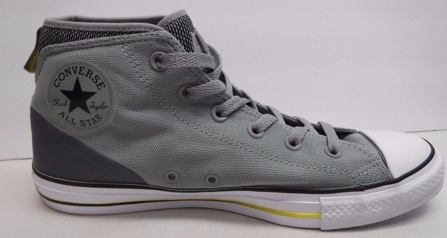 Converse Size 10 Grigio Hi Top Scarpe da Ginnastica New Uomo Shoes